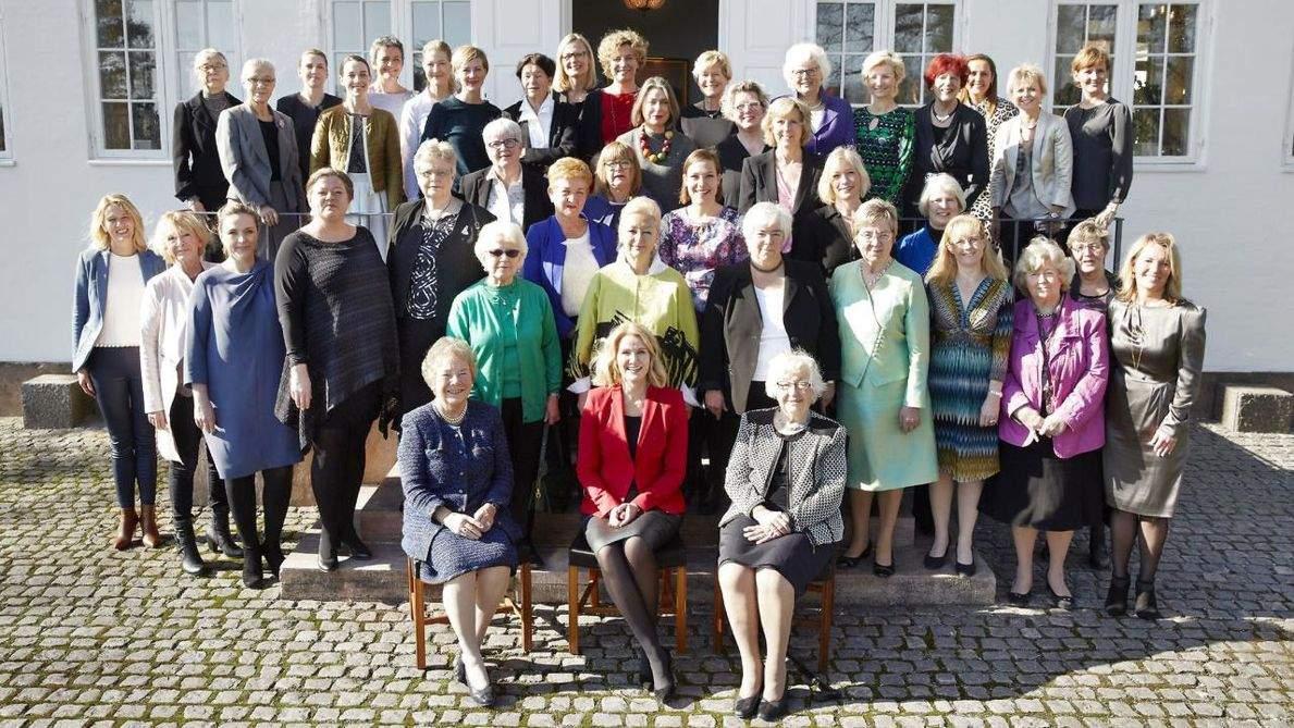 tidligere kvindelige ministre